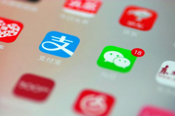Half of China's Bank Customers Use WeChat, Alipay to Manage Finances