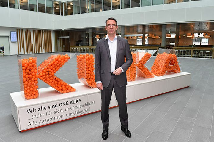 Head of China-Owned Robotics Giant Kuka to Step Down