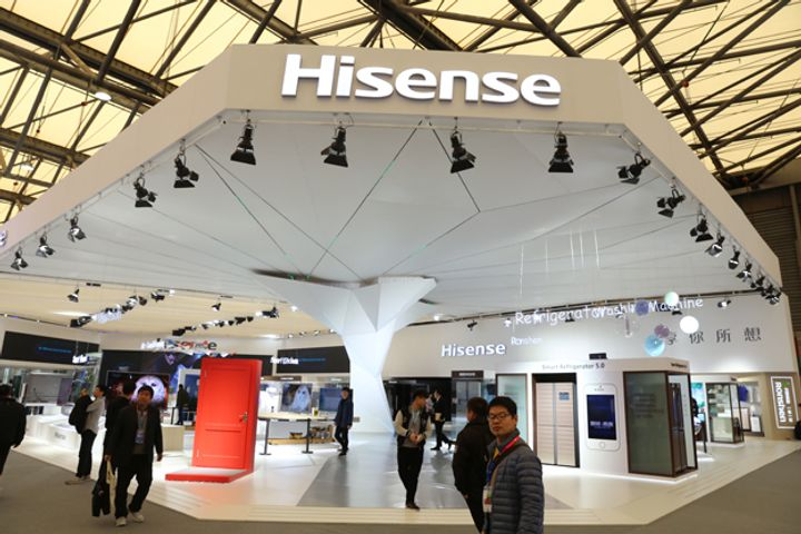 Hisense Electric Buys 95% Stake in Toshiba's TV Subsidiary for USD113.6 Million