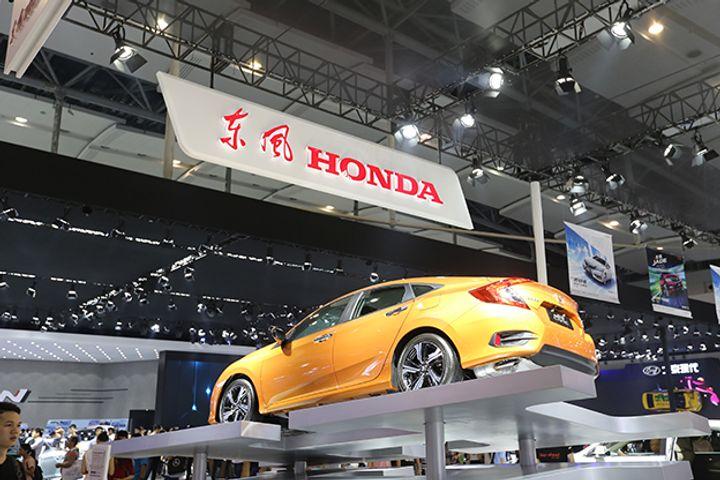 Honda Broke Its China Vehicle Sales Record Last Year