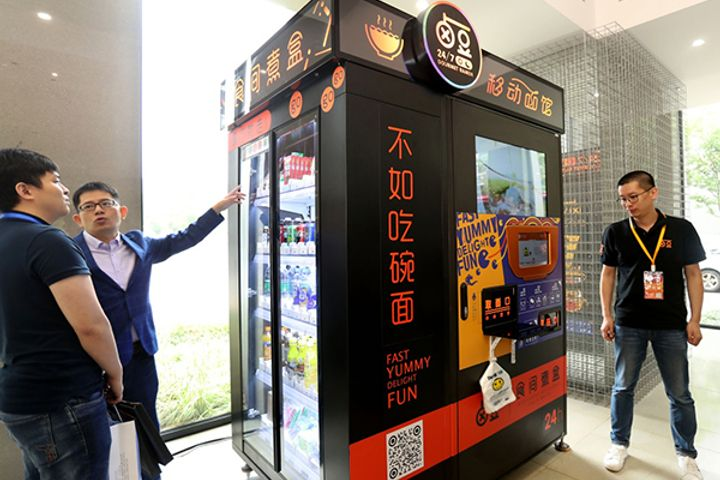 Hot Noodle Vending Machines Return to Shanghai After Permit Approval