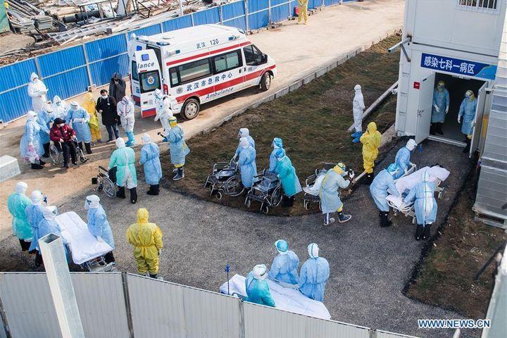 Hubei Reports Over 14,000 New Cases of Novel Coronavirus Infection