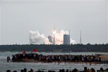 [In Photos] China Launches First Module of New Space Station