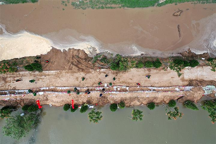 [In Photos] Extensive Flooding Wreaks Havoc in China's Shanxi