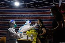[In Photos] Nanjing Starts Third City-Wide Round of Covid-19 Tests as Cases Soar
