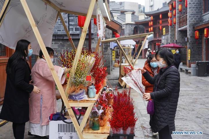 [In Photos] People Celebrate Spring Festival Across China