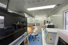 [In Photos] Shanghai's Mobile Nucleic Acid Lab Cuts Airport Covid-19 Test Time by Two Hours