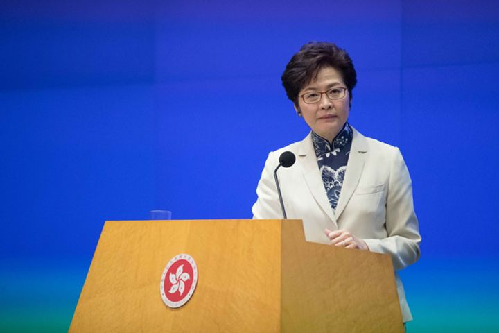Incoming HK Head Gives First Policy Address, Pledges USD1.2 Billion for Innovation