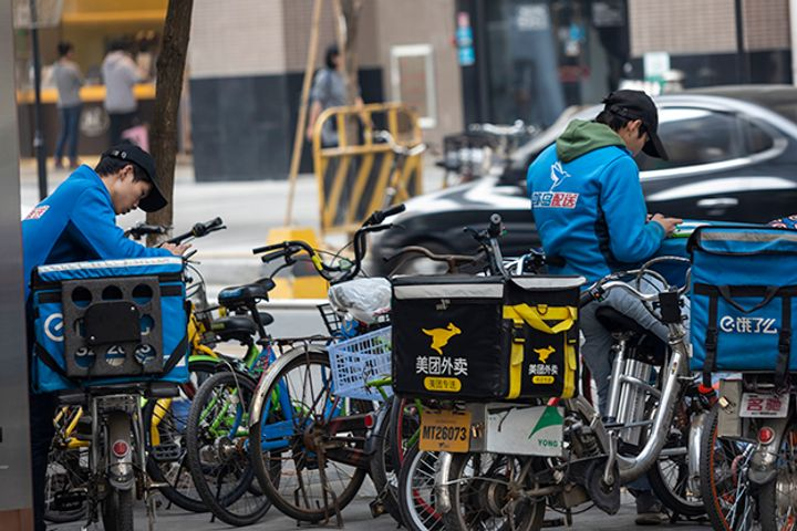 Insurance Is en Route for Online Couriers, Cabbies, China's Social Security Agency Says