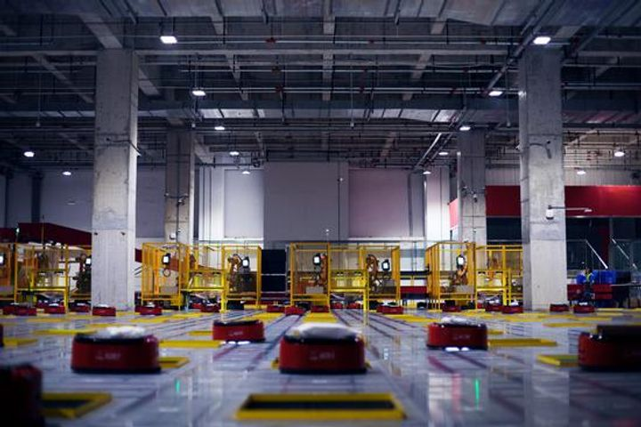 JD.Com Opens Doors to Unmanned Warehouse for First Time