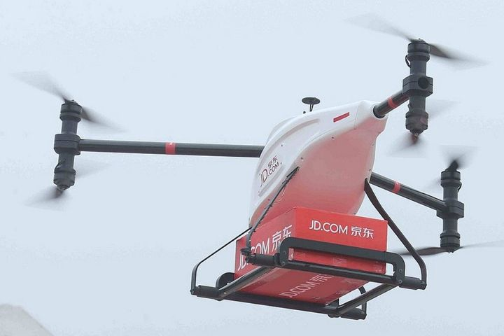 JD.com, Sichuan to Set Up 185 Drone Airports as Firm Pushes for 24-Hour Nationwide Delivery Network