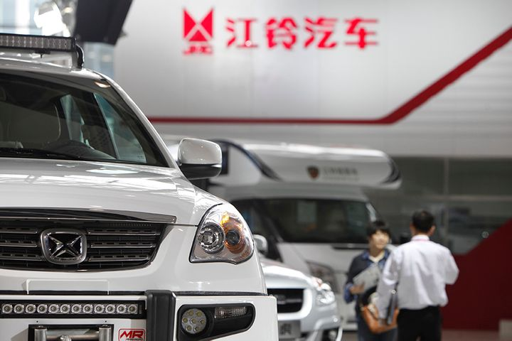Jiangling Motors Sold 3,725 Ford Commercial Vehicles Last Month