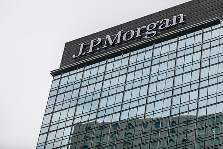 JPMorgan Follows UBS, Nomura With Plans for Controlling Stake in China Securities Unit