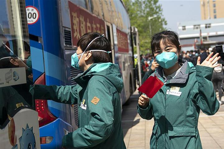 Last Medical Assistance Team Leaves Hard-hit Hubei as Epidemic Subsides