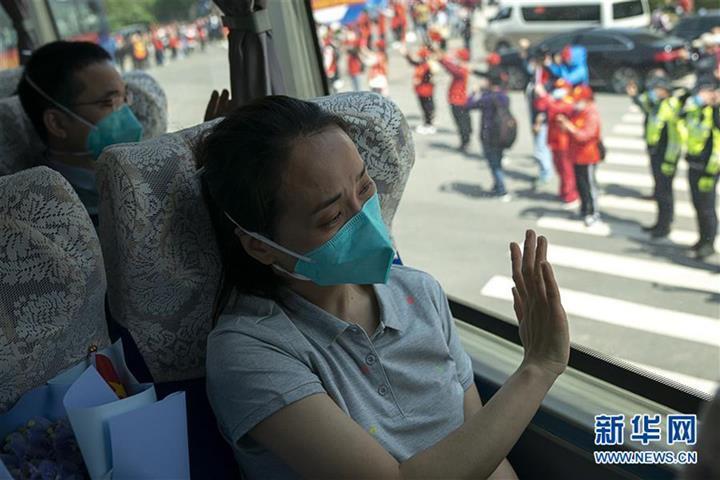 Last Medical Workers in Aid Team Leave Wuhan