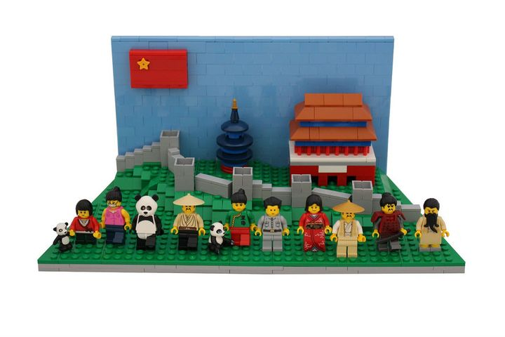 Lego Aims to Expand Business to More Chinese Cities