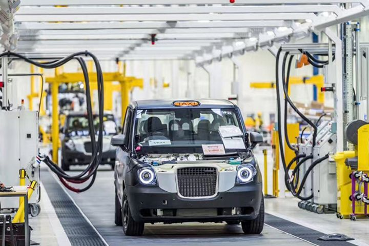 London's Iconic Black Cab Manufacturer Geely's Supplier Eyes Mass Production for Hybrid TX5 Next Year