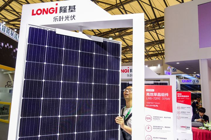 Longi Green Energy Shares Shine After It Wins India Solar Module Order