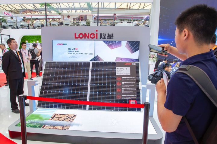 Longi Green Energy Signs USD774 Million Standing Purchase Contract