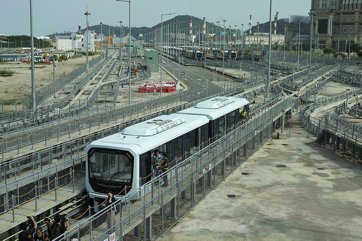 Macau's Light Rail Starts Running Today