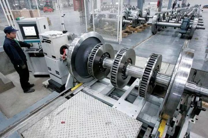 Masteel Becomes First Chinese Firm to Export High-Speed Train Wheels