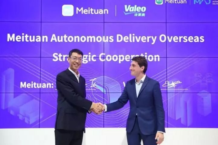 Meituan Partners Nvidia, Two Other Firms on Driverless Meal Deliveries