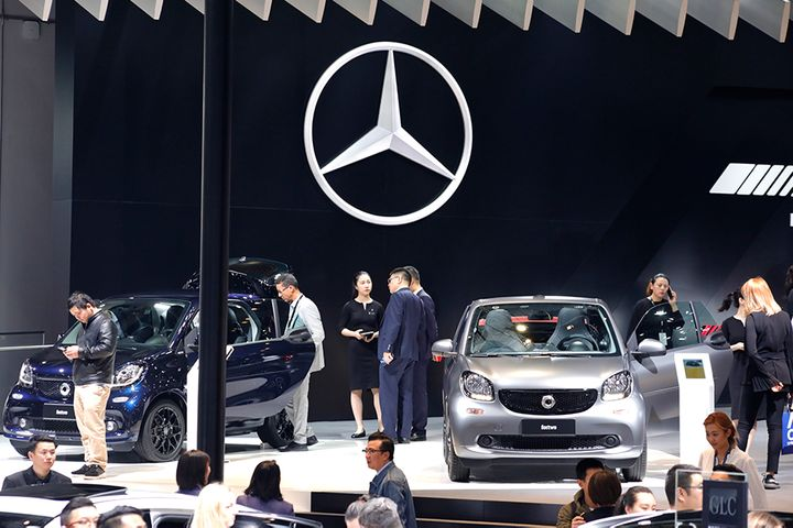 Mercedes-Benz's China Sales Pave Way for Record-Breaking Third Quarter