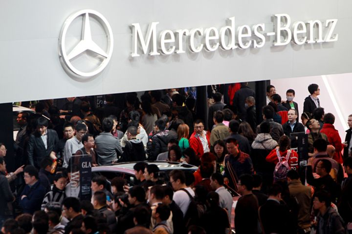 Mercedes Global Sales Hit Seven-Year High After Stellar China Performance