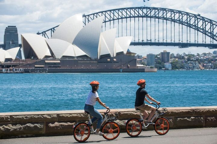 Mobike Expands Bike-Sharing Services to Australia's Largest Urban Market of Sydney