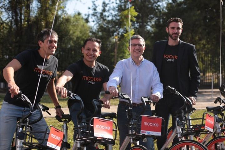 Mobike Forays Into Latin American Market, Rolls Out Services in Chile