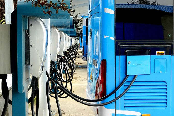 Nanjing Public Utilities Development's Two Subsidiaries to Take Part in Construction of Charging Piles for Nanjing Buses