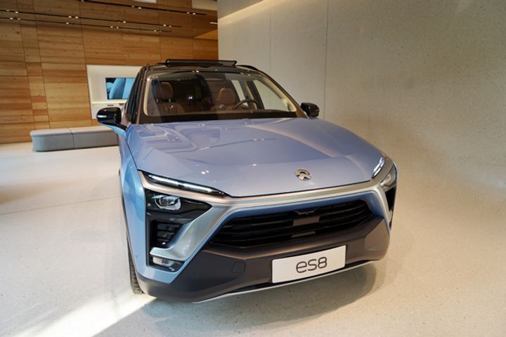 NIO Announces Its First Highway Battery Swap Station Network in China