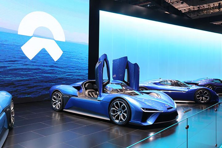 NIO Could Be First Chinese Electric Carmaker to IPO in US
