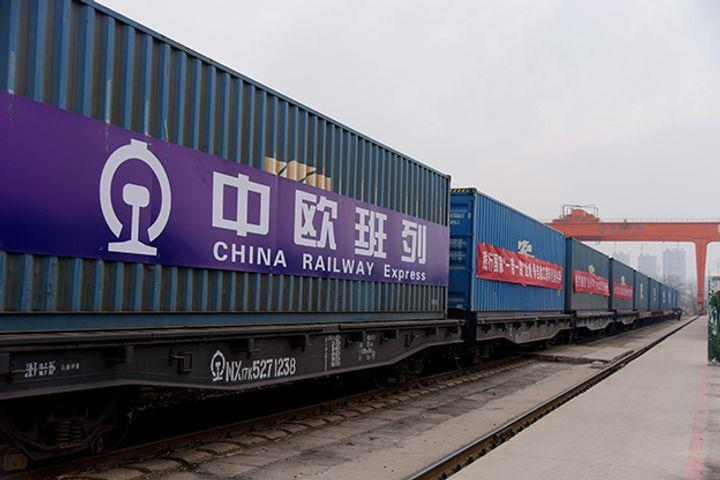 Number of China-Europe Freight Trains Hits Monthly Record