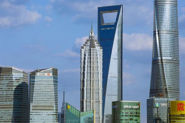 Office Occupancy in Shanghai's Lujiazui Financial Hub Is Back to Pre-Pandemic Levels