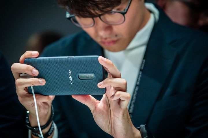 Oppo Debuts First 5G Handset at MWC Ahead of April Release