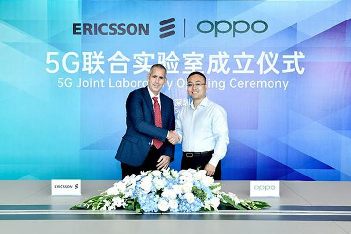 Oppo, Ericsson Set Up 5G Lab in Shenzhen to Expand Global Use