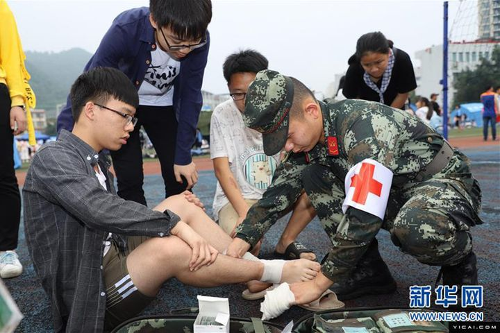 Orderly Relief Proceeds in Sichuan's Quake Disaster Zone