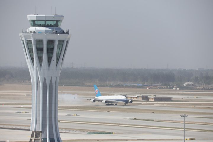 Passenger Aircraft Touch Down at Beijing Daxing Airport for First Time