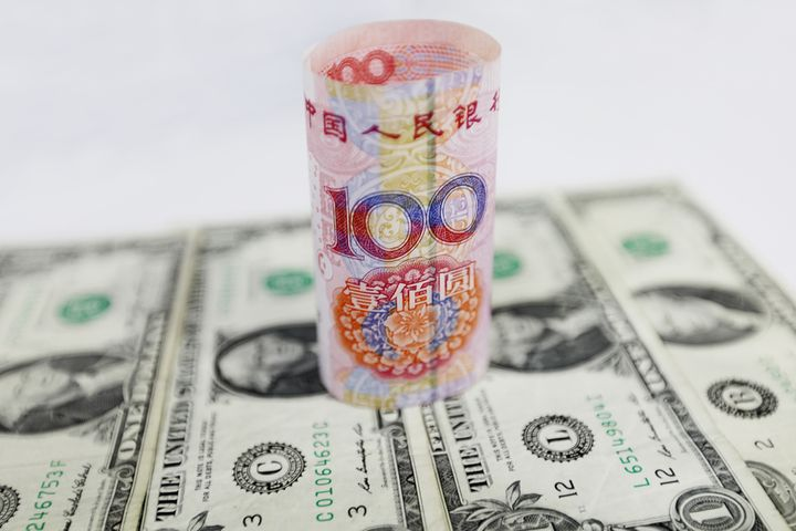 PBOC Sets Yuan-Dollar Parity Rate 96bps Stronger