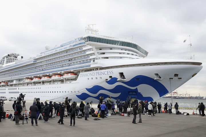 Princess Cruises Cancels This Year's Chinese Trips Amid Virus Ship Crisis in Japan