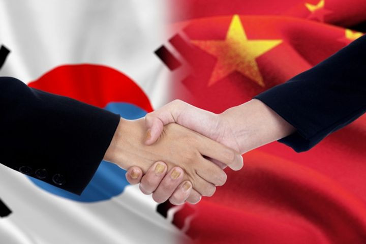 Products With Zero Tariff Cover Half of Bilateral Trade Between China and South Korea