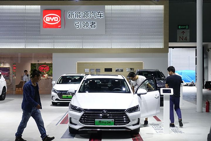 Profit at World's Largest NEV Maker BYD Fell Nearly One-Third in 2018