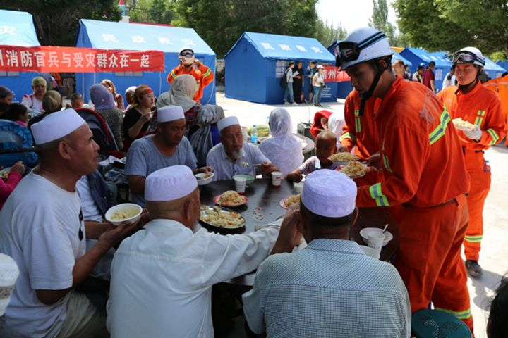 Relief Is on the Way to Xinjiang After Quake Injures 32, Wreaks USD22.5 Million in Losses