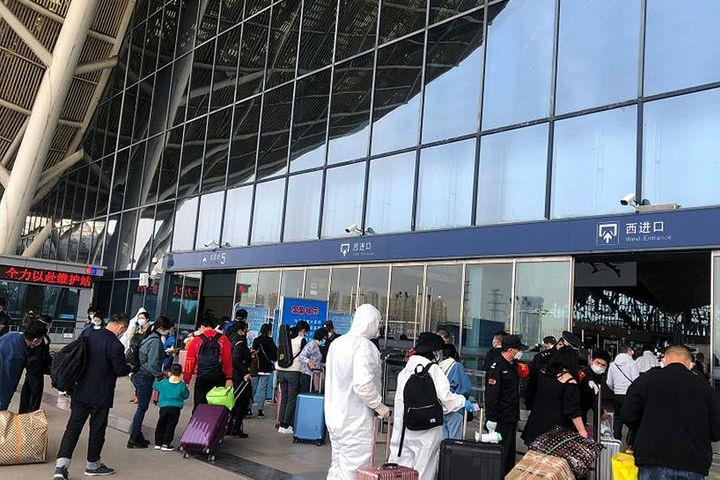 Reopened Wuhan Sees 620,000 Public Transport Passengers on First Day