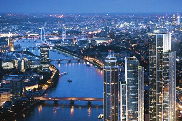 R&F Properties Pays USD268 Million for 60% of Wanda's London Project