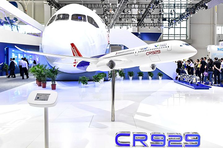Russia's Rostec Wants China's Help to Crack Duopoly on Wide-Body Jet Engines