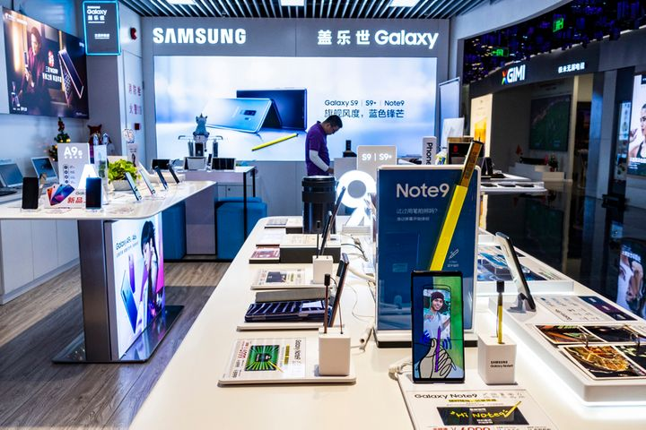 Samsung Claws Back to Over 1% China Handset Market Share After Slipping for Four Quarters