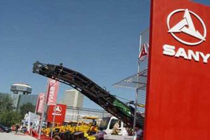 Sany Heavy Gains After Chinese Machinery Maker Doubles First-Half Net Profit