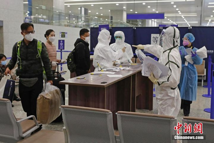 Shanghai Customs Screen Arrivals for Virus, Ensure Their Tracking